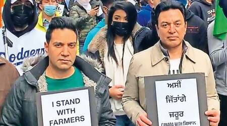 Vancouver kisan rally, farm laws, farmers protest, India's farmers, Indian express news