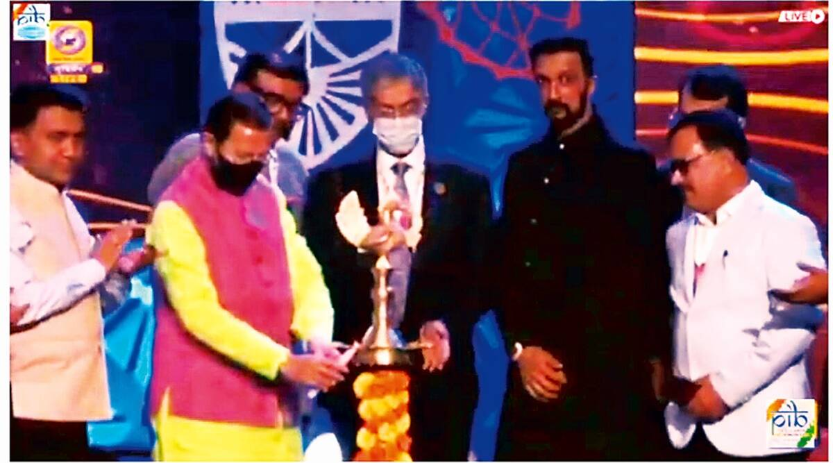 Biswajit Chatterjee, Indian Personality of the Year, IFFI, International Film Festival of India, Indian express news