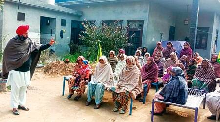Women farmers' Day, Women farmers protest, Farm law, CHandigarh news, Punjab news, Indian express news