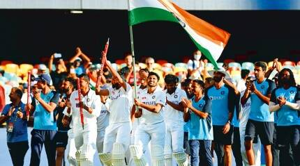 A billion get booster dose from Brisbane: World wakes up to watch Indian cricket's big rising