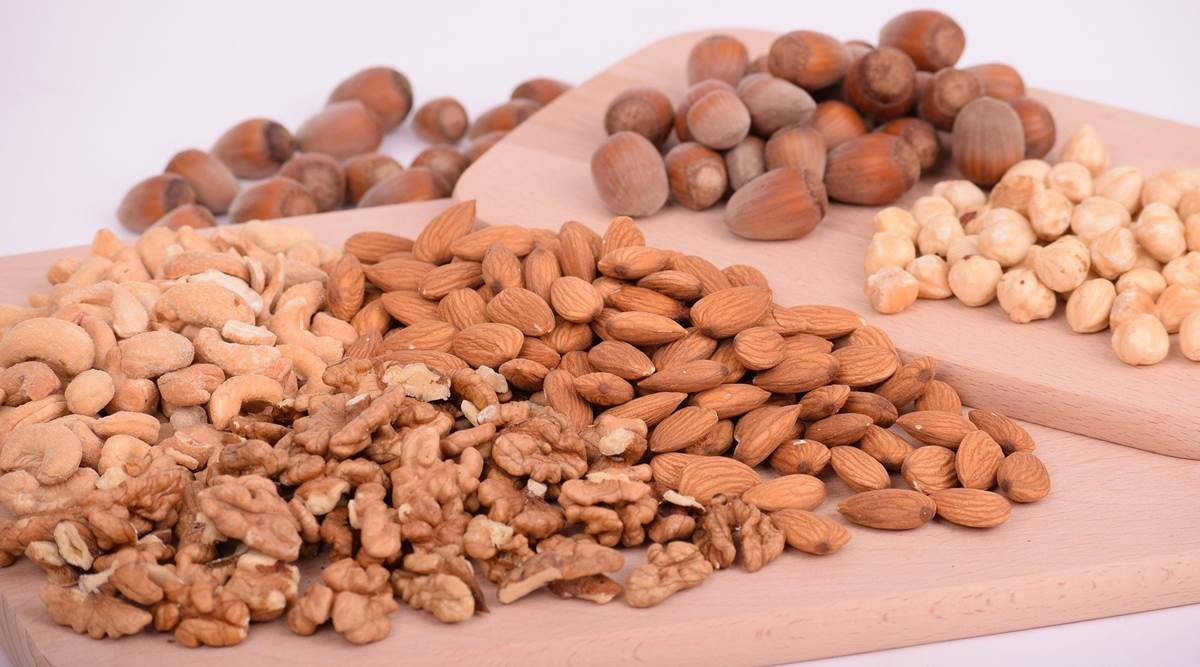 mental health, cognitive health, nuts, eating nuts, adding nuts in the diet, healthy diet, indian express news