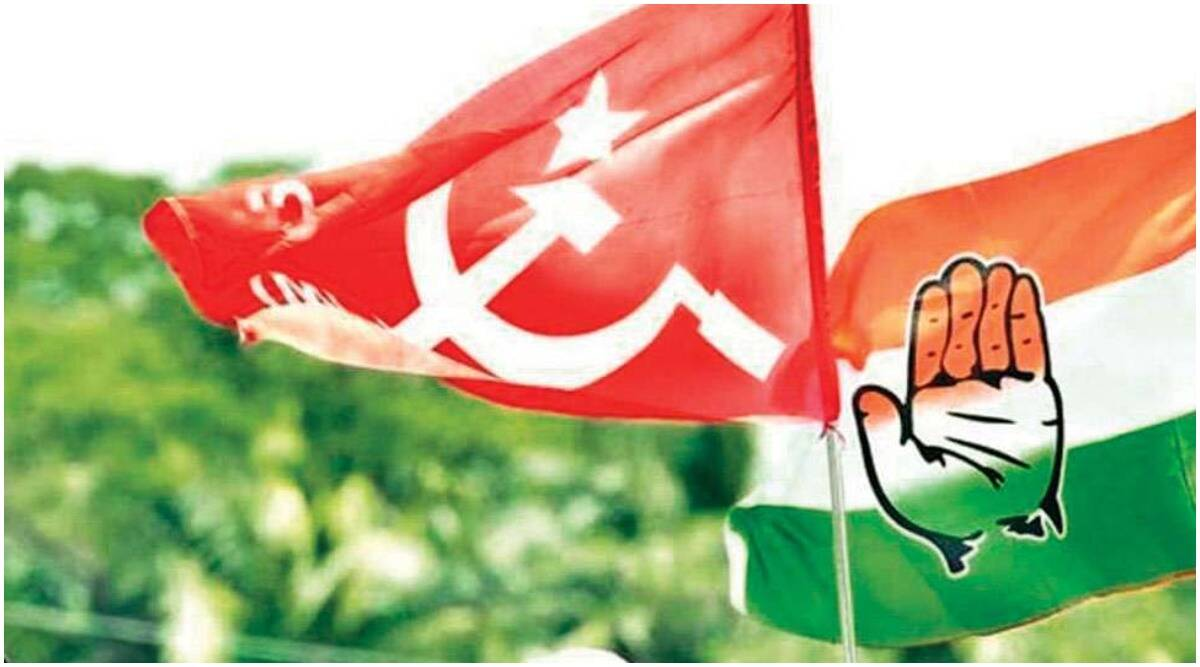 Congress west bengal, west bengal Left front, Adhir Chowdhury congress, West Bengal Assembly elections, west bengal news, west bengal left alliance, west bengal congress alliance, congress left alliance, congress left alliance seat share, india news, indian express