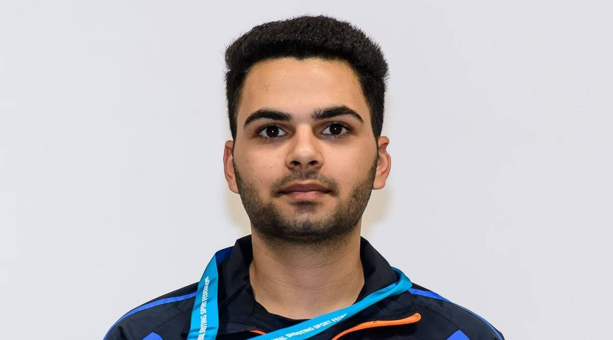 Arjun Babuta, dav college, chandigarh shooter, punjab, Indian shooter, First Asian Online Shooting Championship, Kuwait Shooting Federation, chandigarh news, chandigarh latest news, india news, indian express