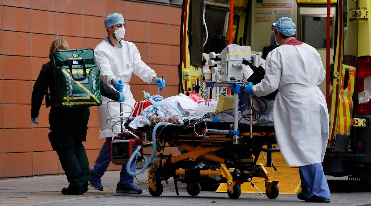 UK covid strain, Uk covid cases, UK reactivates emergency COVID-19 hospitals, Uk hospitals, UK primary schools closed, Britain covid cases and deaths, world news, indian express