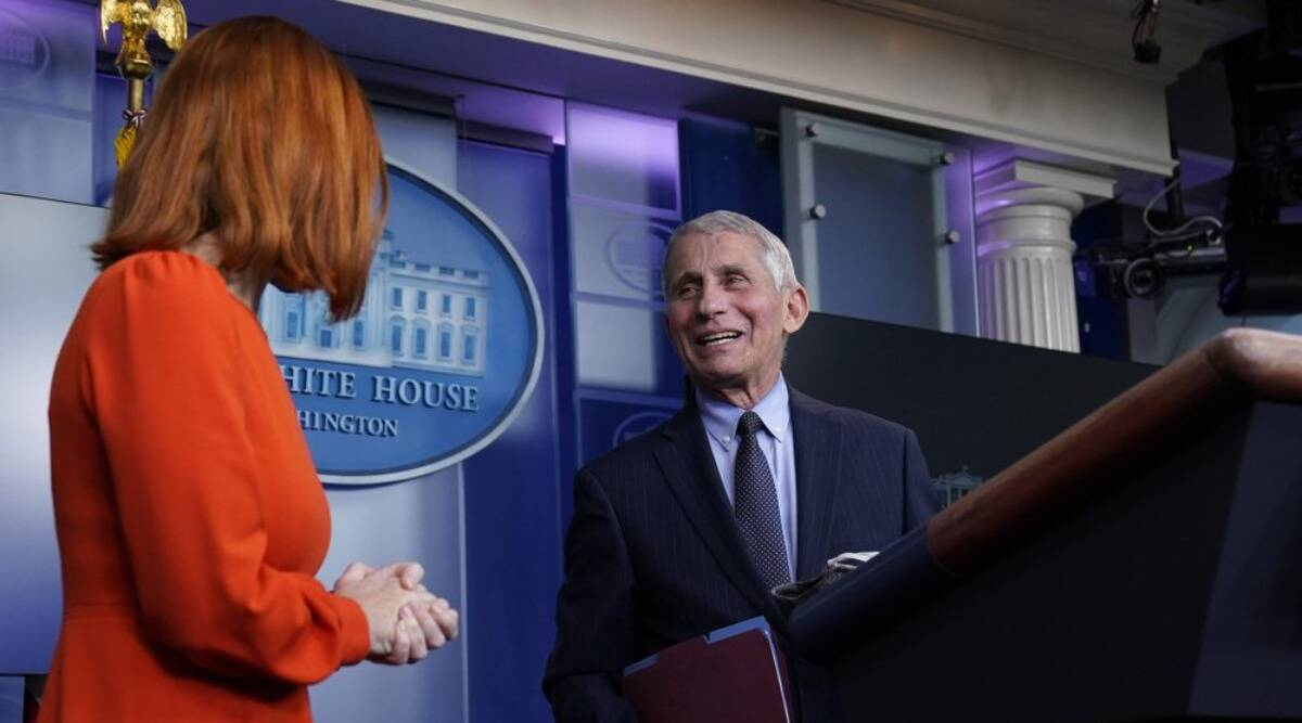 Anthony Fauci, Fauci under Trump, Fauci Biden, Fauci coronavirus, WHO, President Joe Biden, donald trump, Anthony Fauci on Covid, US coronavirus news, world news, indian express