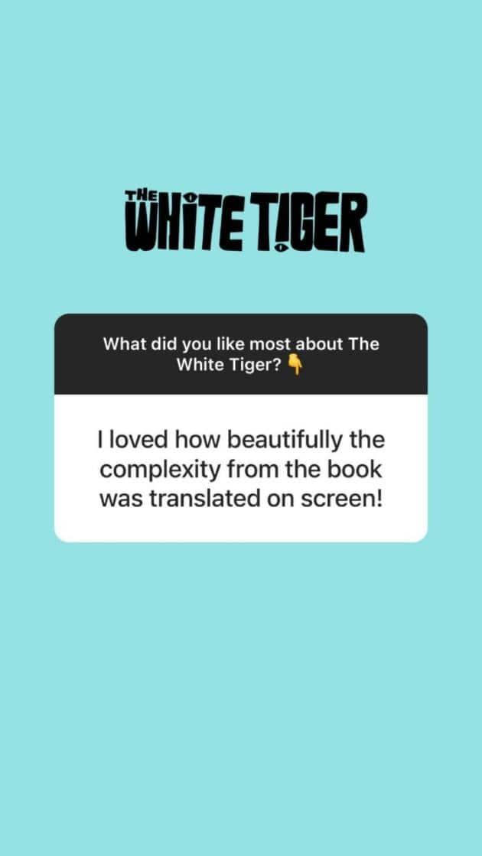 priyanka chopra, the white tiger