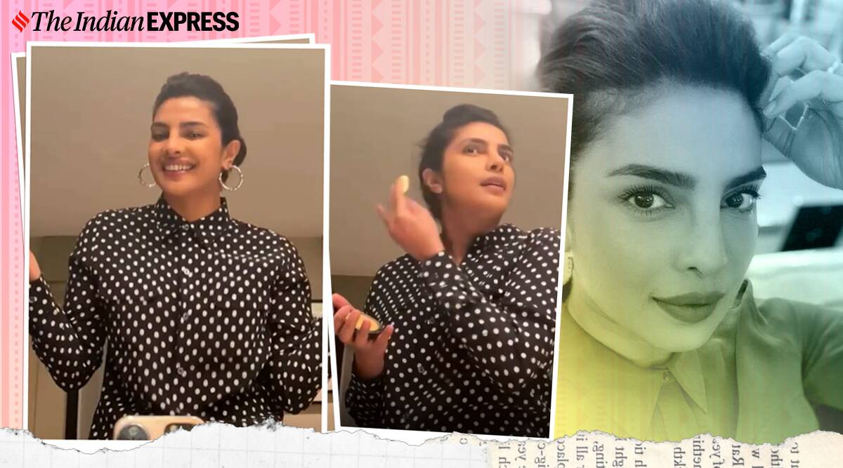 Priyanka Chopra shares how she glams up quickly for zoom call; watch video