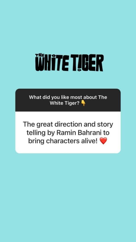 priyanka the white tiger