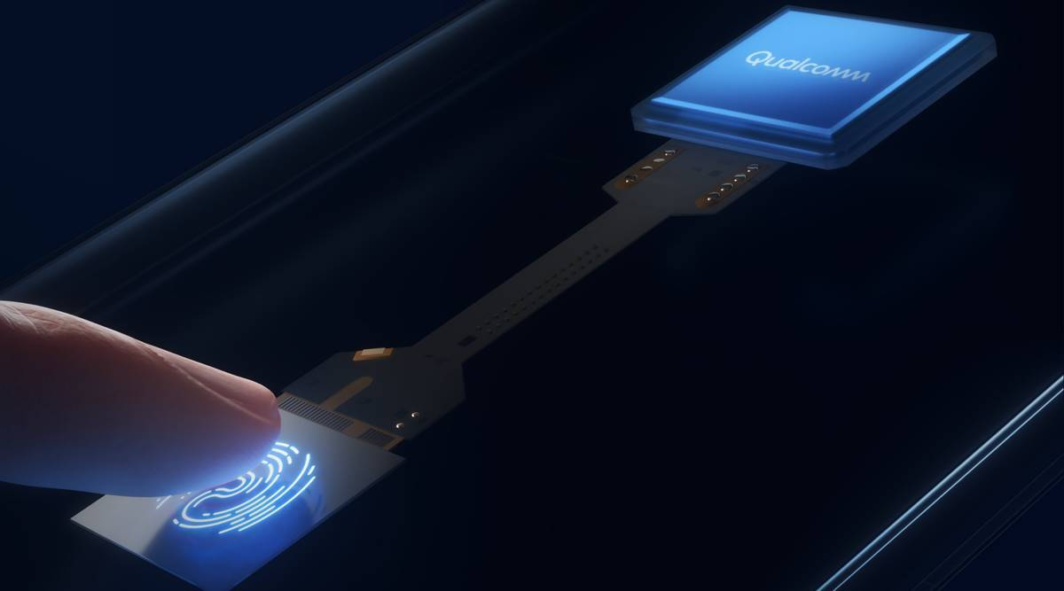 qualcomm 3D Sonic Sensor Gen 2, qualcomm fingerprint scanner, qualcomm ces 2021, samsung galaxy s21 fingerprint scanner