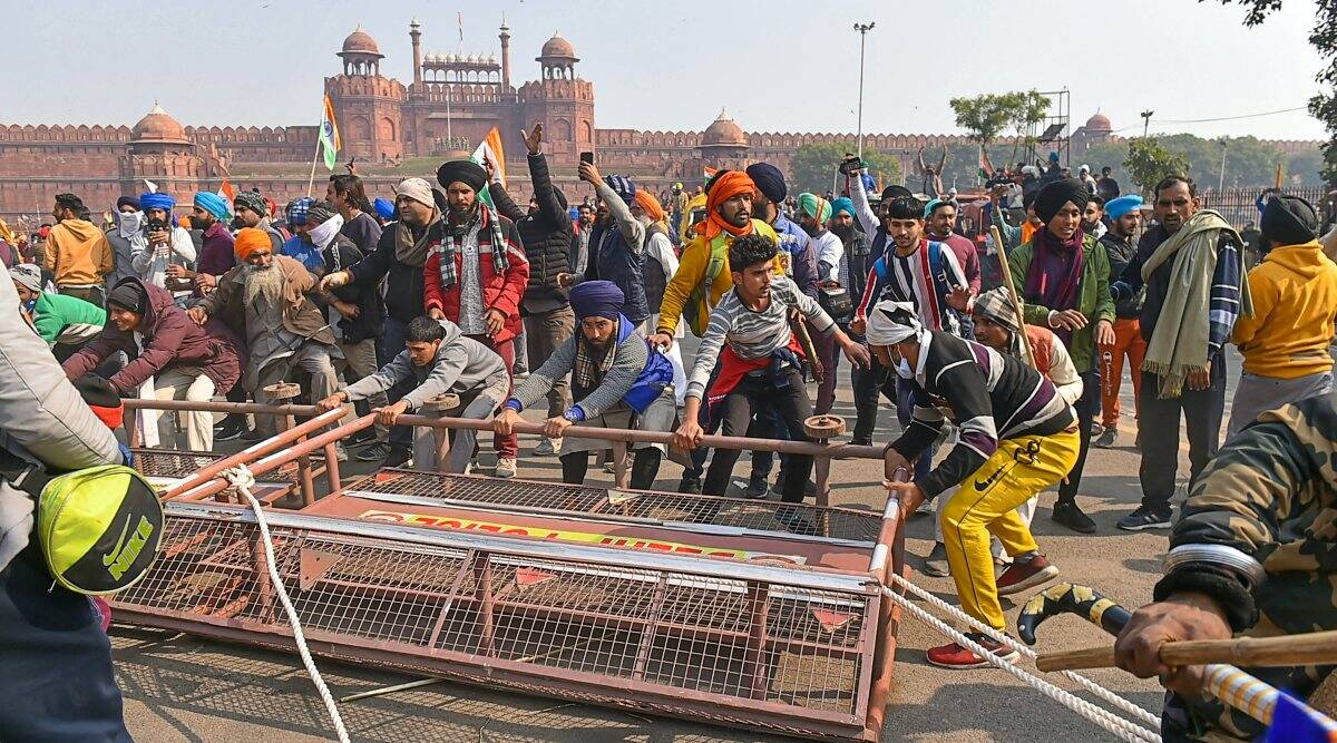 In town for Republic-Day, artists in middle of Red Fort chaos, taken to safety