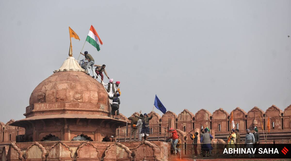 Five identified at Red Fort have criminal records in Punjab: probe