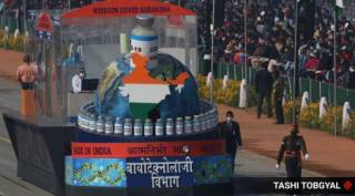 India's military might on display on 72nd Republic Day