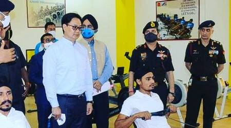 Kiren Rijiju, Khelo India centres, 2028 Olympics, Khelo India State Centre of Excellence launched, Khelo India centres at district levels, College of Military Engineering, Pune news, indian express news
