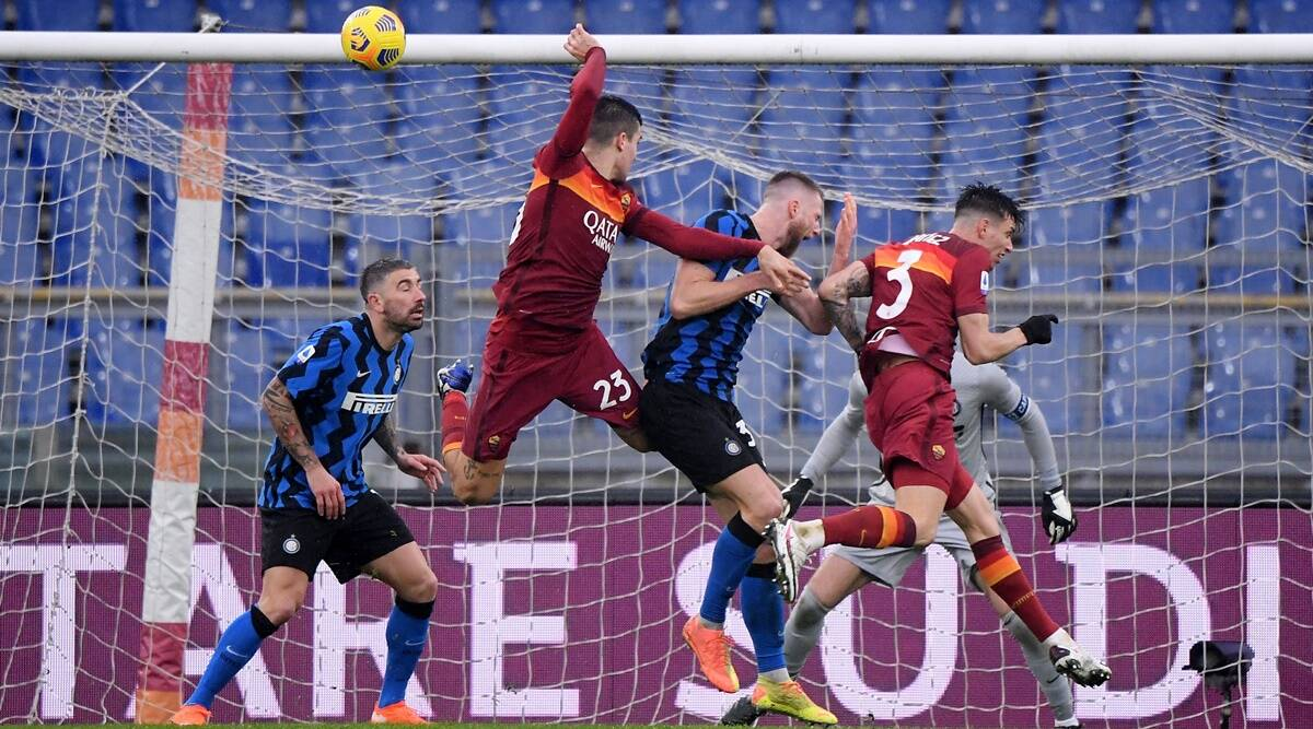 Roma snatches 2-2 draw against title rival Inter Milan - Exclusive Sports  News