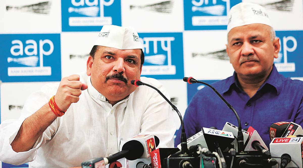 BJP hand in Red Fort violence, claims AAP's Sanjay Singh