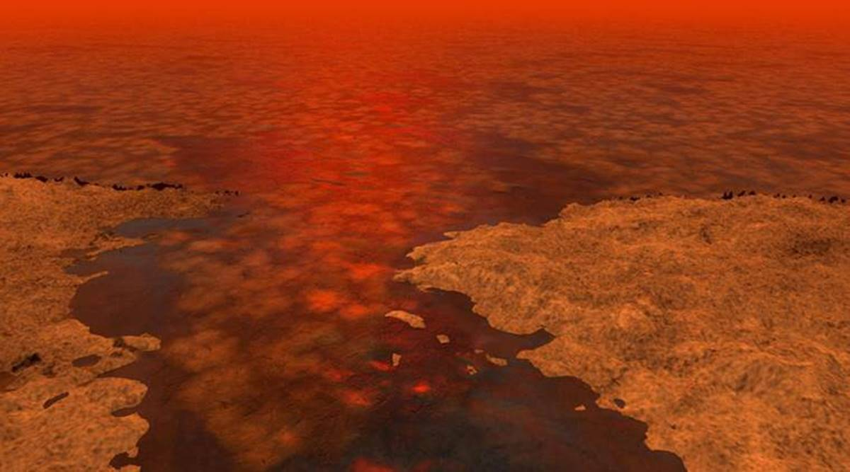 Largest sea on Saturn's moon Titan could be more than 1,000 feet deep |  Technology News,The Indian Express