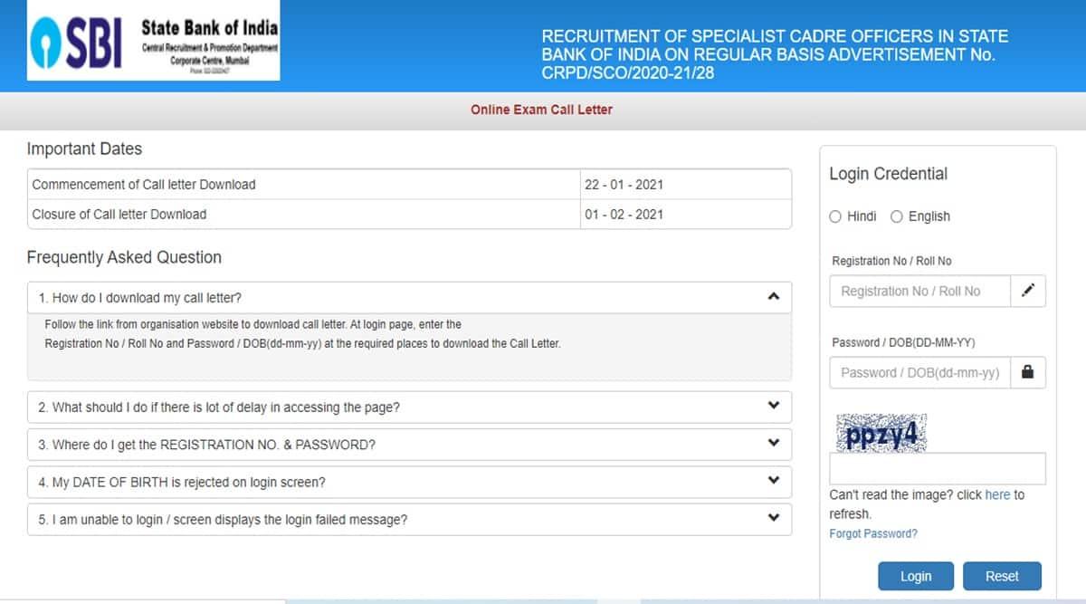 sbi admit card, sbi sco call letter download, sbi.co.in, sbi latest jobs, govt jobs, sakari bank naukri, sakrari naukri,