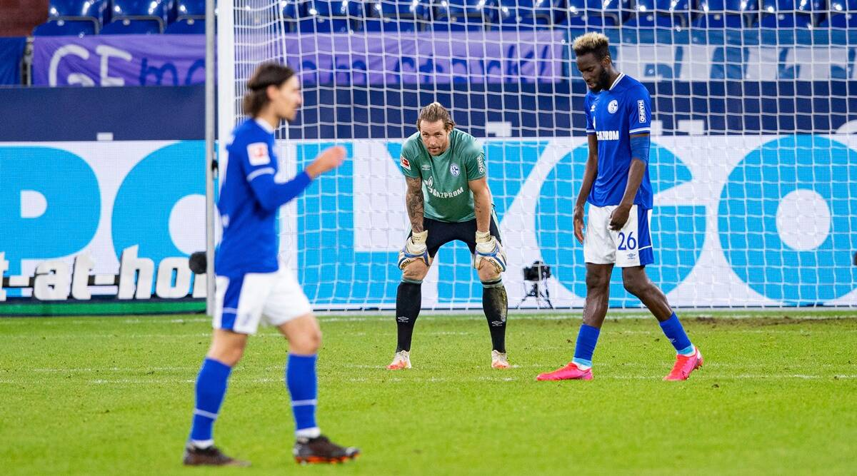 Winless Streak Tests Resolve Of German Club Schalke Sports News The Indian Express