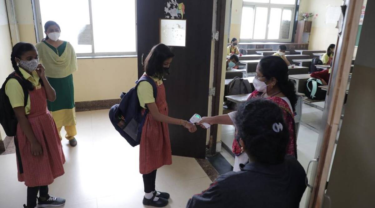Schools reopen in Odisha for students of classes 10, 12