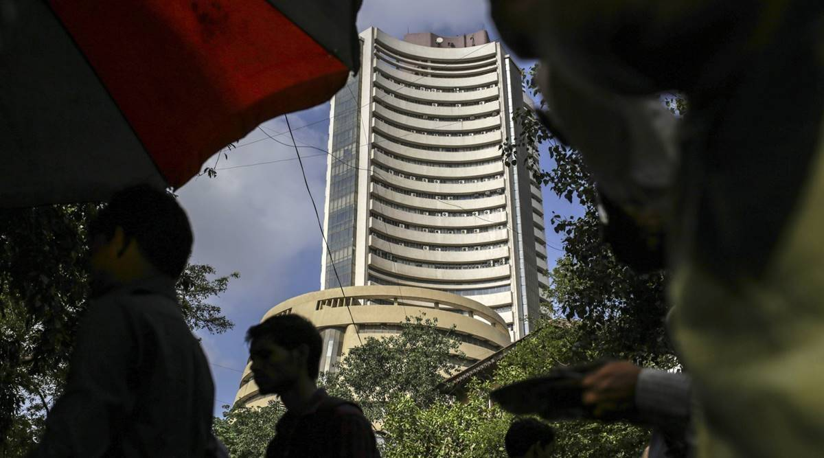BSE Sensex, Stock market, global markets, shares selling pressure, share drop, economy news, indian express news