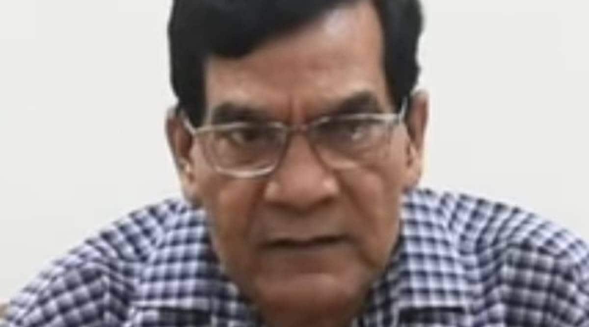 uttar pradesh BJP, Arvind Kumar Sharma, up Legislative Council polls. Arvind Kumar Sharma nomination, indian express news