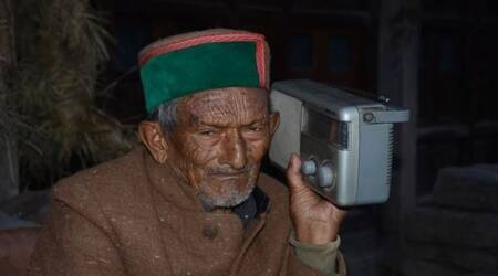 At 103, India's first voter turns up to cast vote in Himachal panchayat polls