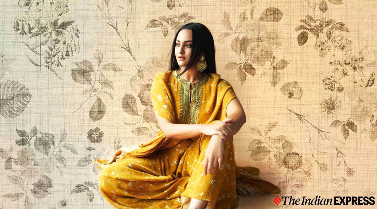 'And it was all yellow': Sonakshi Sinha looks lovely in this Arpita Mehta ensemble