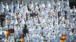 ind vs aus, ind aus 4th test day 2, stars wars cosplayers the gabba, gabba test stormtroopers darth vader, border gavaskar trophy, cricket news, indian express