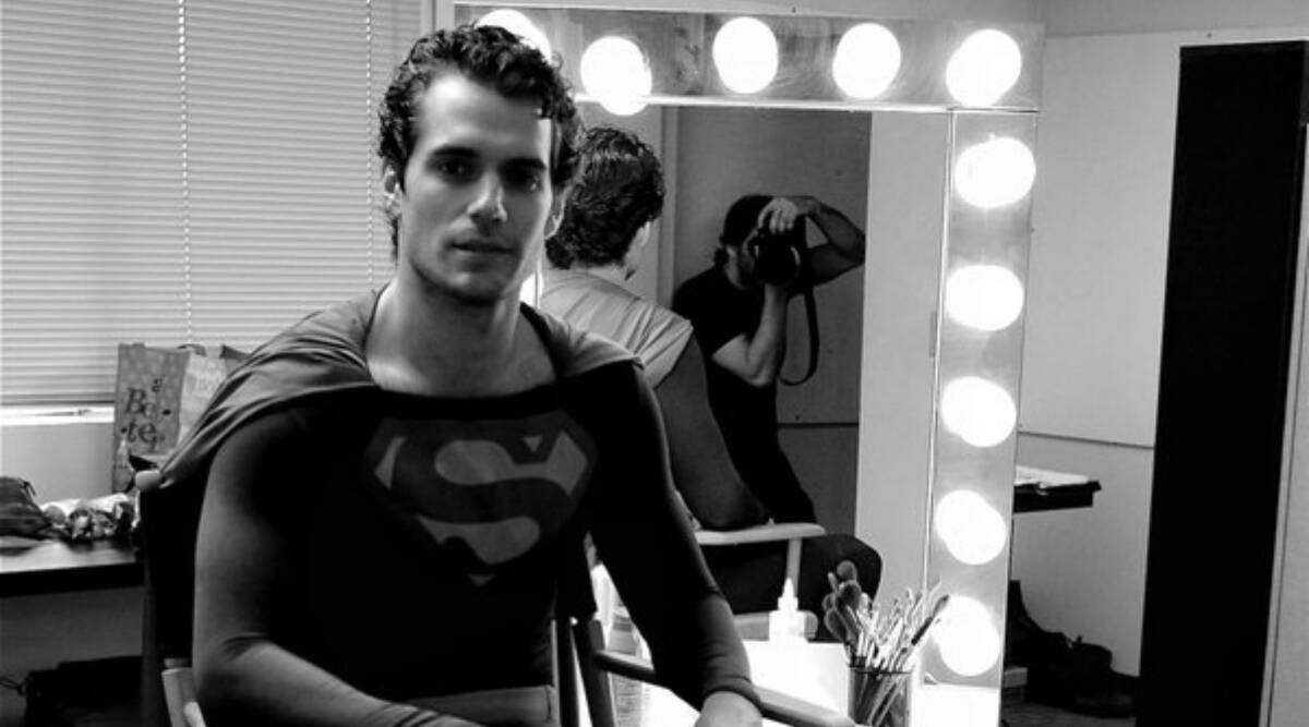 Justice League Snyder Cut: Henry Cavill dons Superman's suit once again |  Entertainment News,The Indian Express