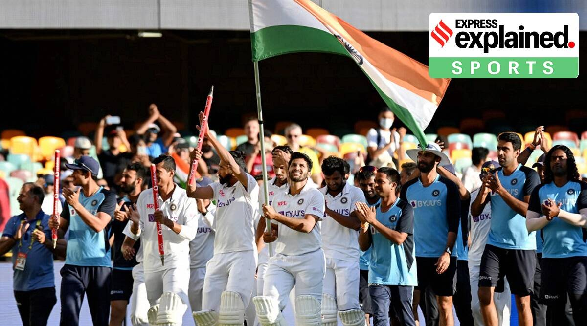 India vs Australia, IND vs AUS, Team India, Gabba Test, Brisbane, Indian Express