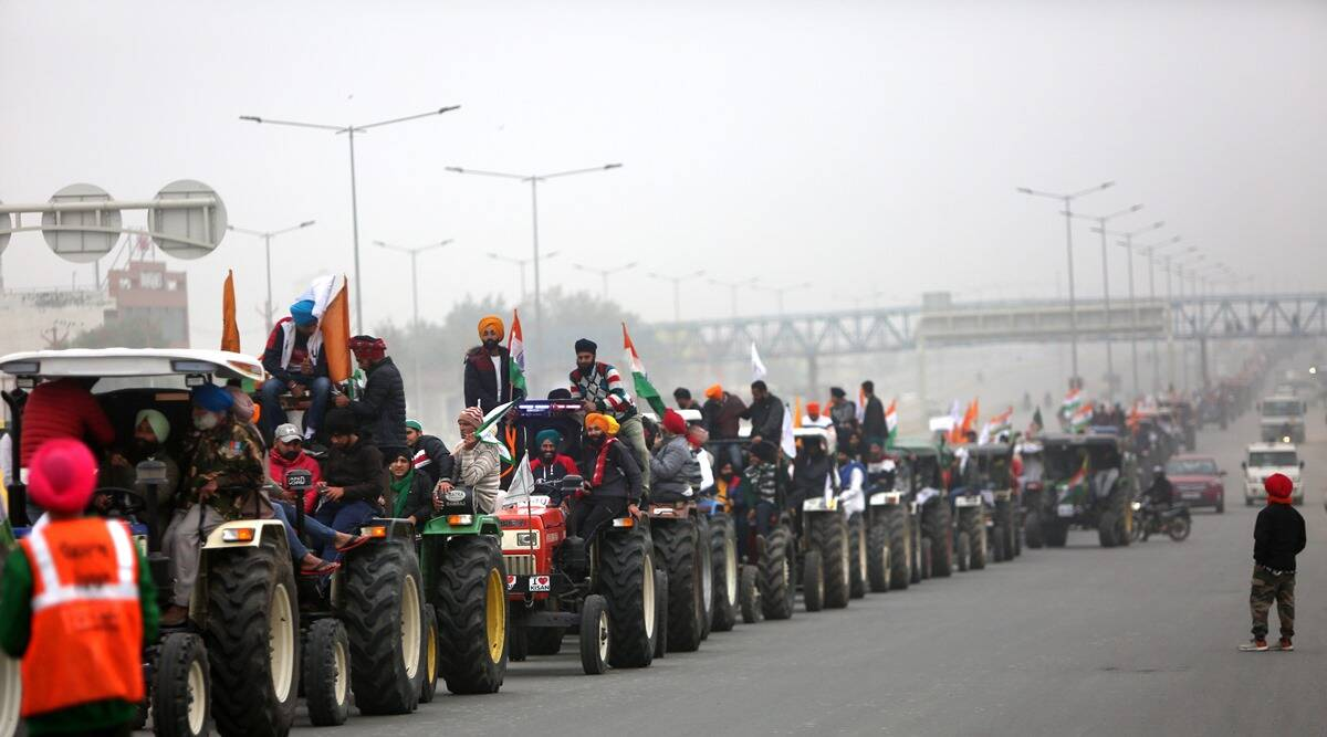 Farmers Protest, Farm bills 2002, farmers tractor rally, farmer talks, independence day, India news, indian express news
