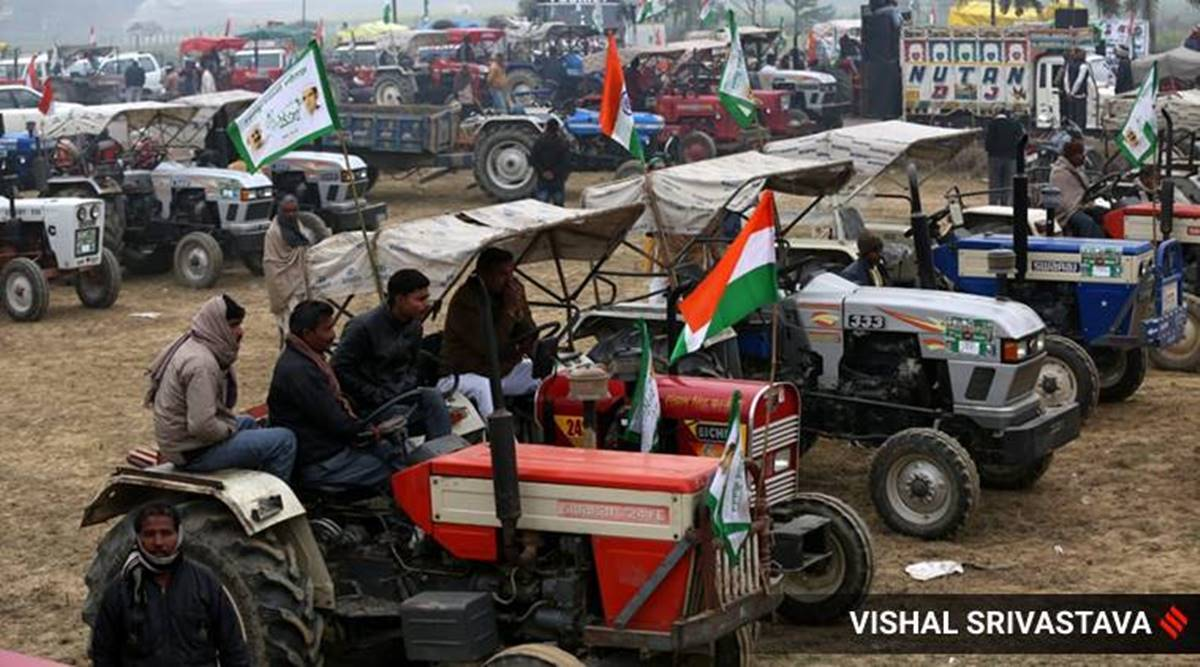 At Singhu protest site, no pause to rush of new tractors, hundreds more pour in