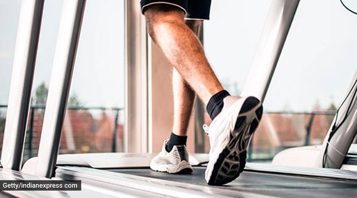 Treadmill workout, gym workouts, how to use treadmill, heart health and treadmill, sourav ganguly and heart health, indianexpress.com, how to best use treadmill, indianexpress