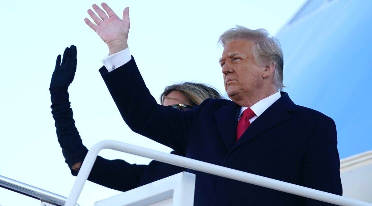 Trump leaves White House, says 'it's been a great honor' | World News,The  Indian Express