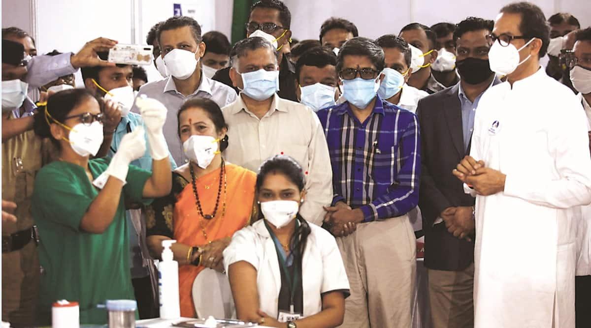 uddhav thackeray, Maharashtra covid, Maharashtra covid vaccination, maharashtra covid vaccine, Co-Win app, indian express news