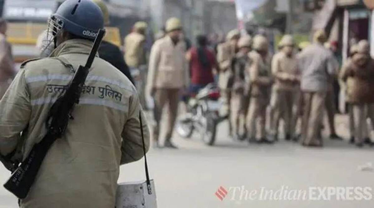 Baghpat police, farmers, farmers protest, NHAI, Epidemic Diseases (Amendment) Ordinance, section 144, uttar pradesh farmer protest, up news, up latest news, india news, indian express