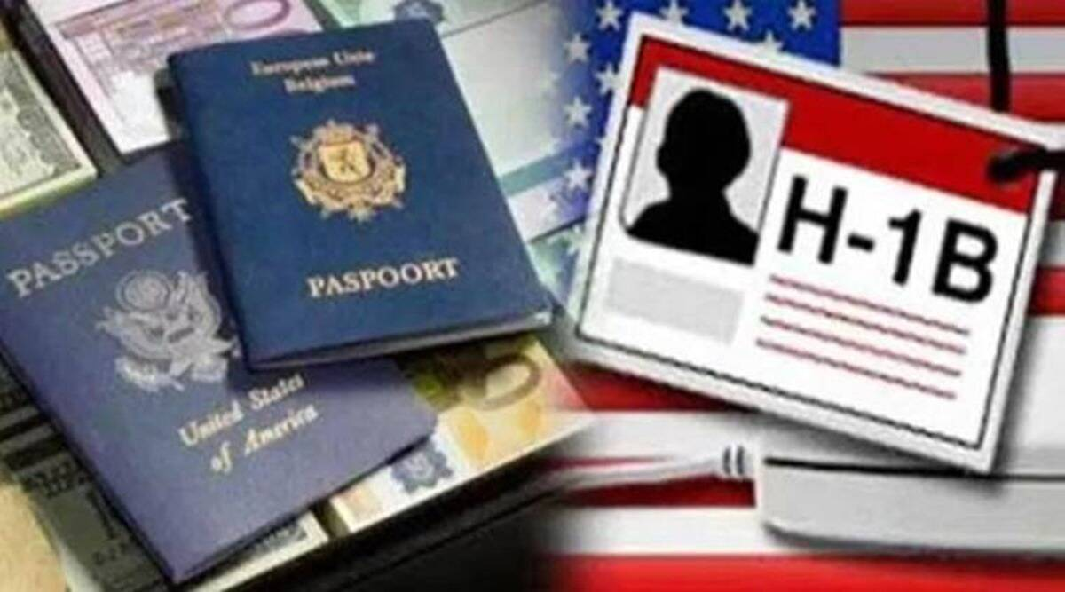 H1b visa, Biden administration, Donald Trump, trump era Visa rules, US H-1B visa rules, Biden on H1B, Indian express