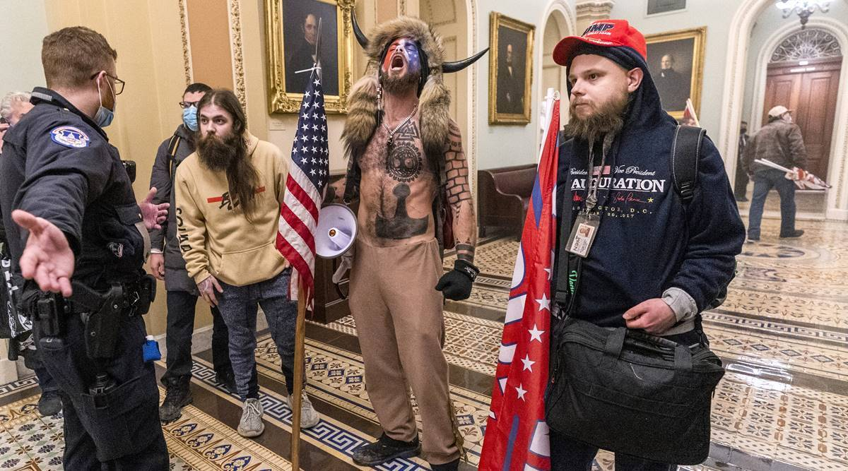 US Capitol rioters hold out long-shot hope for a Trump pardon
