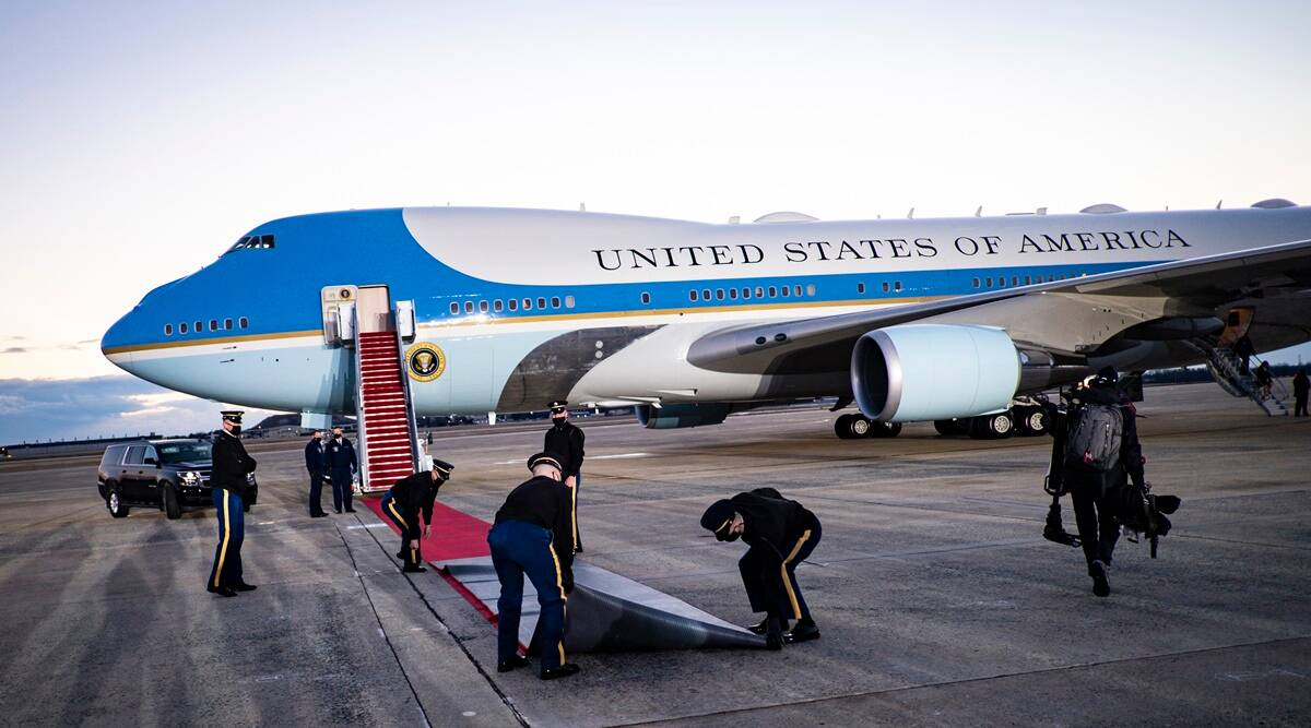 US Air Force, White House, US Air Force intruder, Joint Base Andrews, pentagon, security breach, US C-40 plane, us news, us latest news, world news, indian express