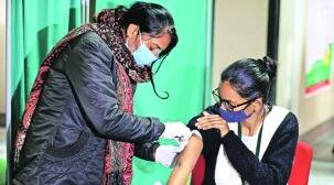Covid-19 in Lucknow, Covid vaccination in lucknow, Covid vaccine dry run in lucknow, indian express news