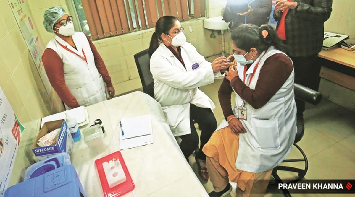 Chandigarh news, Covid vaccine, Chandigarh vaccination, Phase 2 vaccinations in Chandigarh, Covishield vaccination in Punjab, Coronavirus vaccine in India, Chandigarh city news, Indian Express
