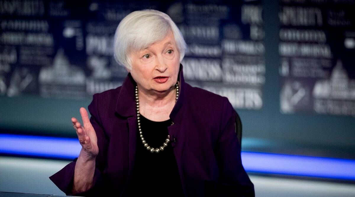 Janet Yellen, Janet Yellen Treasury Secretary, Janet Yellen Senate confirmation, Indian Express