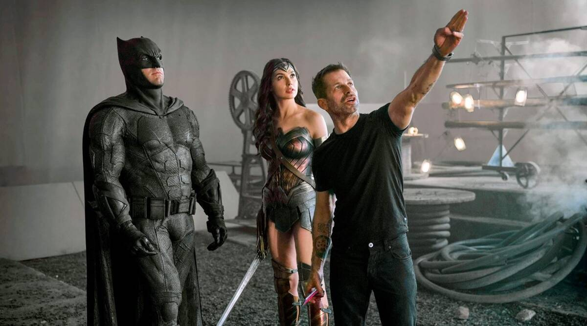 Zack Snyder reveals new photos from his cut of Justice League