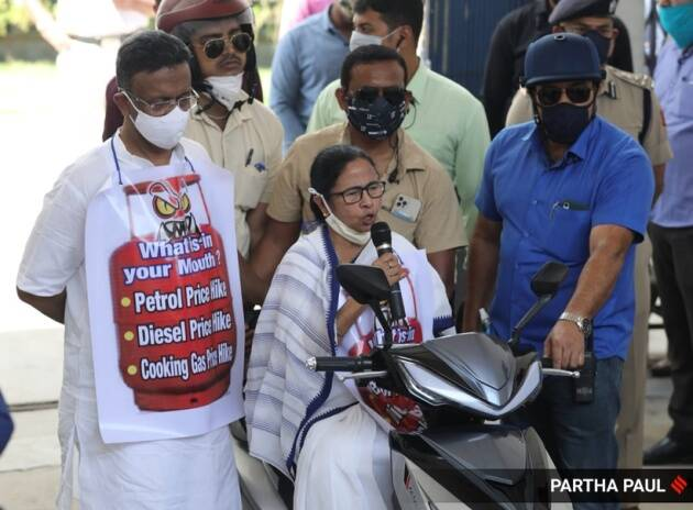 west bengal assembly elections 2021, mamata banerjee rally, rising fuel prices