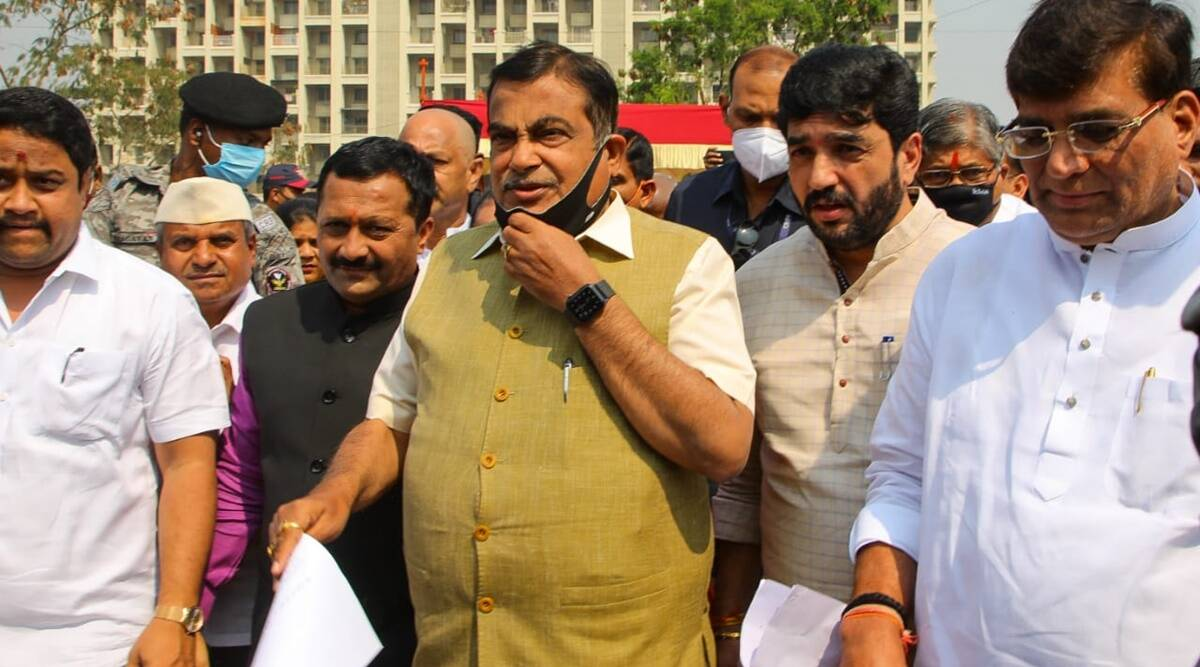 Nitin Gadkari, Chandni Chowk flyover, Pune flyover, Pune Municipal Corporation, National Highway Authority of India, Union Road Transport and Highway Minister, Mayor Murlidhar Mohol, pune news, indian express