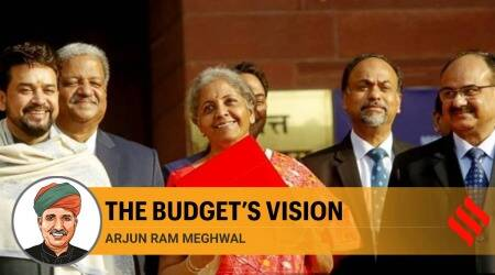 budget, budget 2021, budget highlights, budget income tax, corona impact on economy, Atmanirbhar Bharat Mission, Indian economy, finance sectors, health sectors, Modi govt Flagship schemes, Arjun Ram Meghwal, express columns