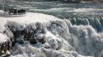 Niagara Falls, Frozen Niagara Falls, Niagara Falls in snow, Niagara Falls winter wonderland, Frozen Niagara falls pictures, Frozen Niagara falls videos, Trending news, Indian Express news