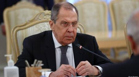 Russian Foreign Minister, Sergei Lavrov, European Union, Russia's economy, Russian opposition leader Alexei Navalny, Alexei Navalny, world news, indian express world news