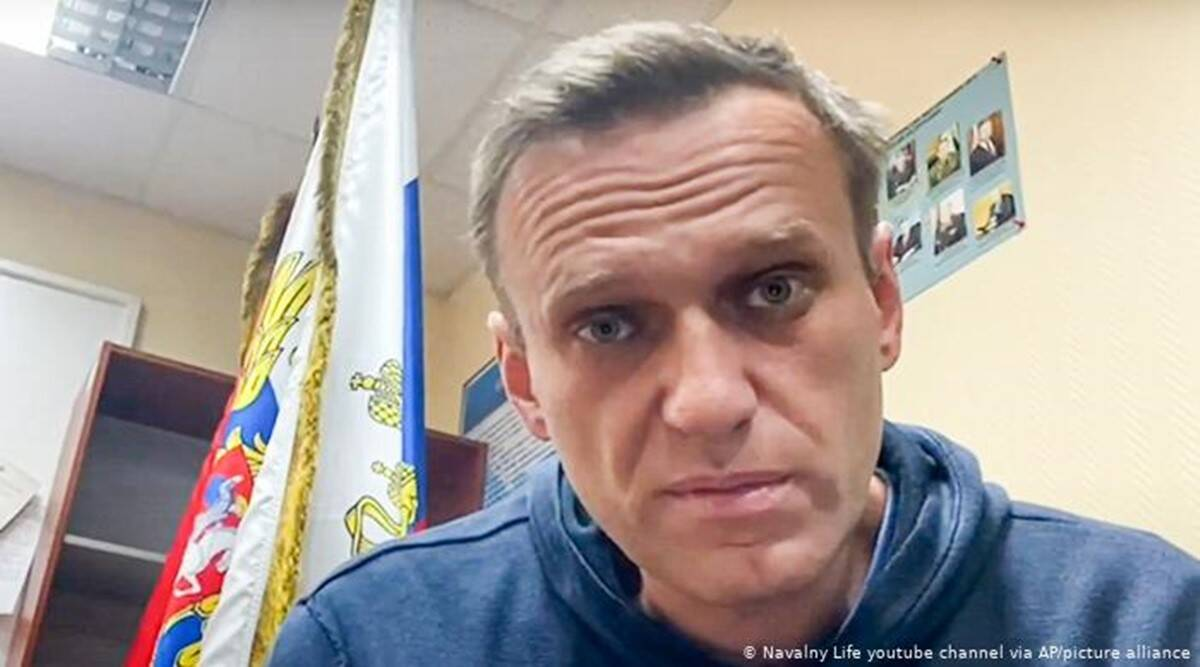 Alexei Navalny, Alexei Navalny jail, Kremlin critic Alexei Navalny, Alexei Navalny Russia, Russian President Vladimir Putin, Russia news, world news, indian express world news