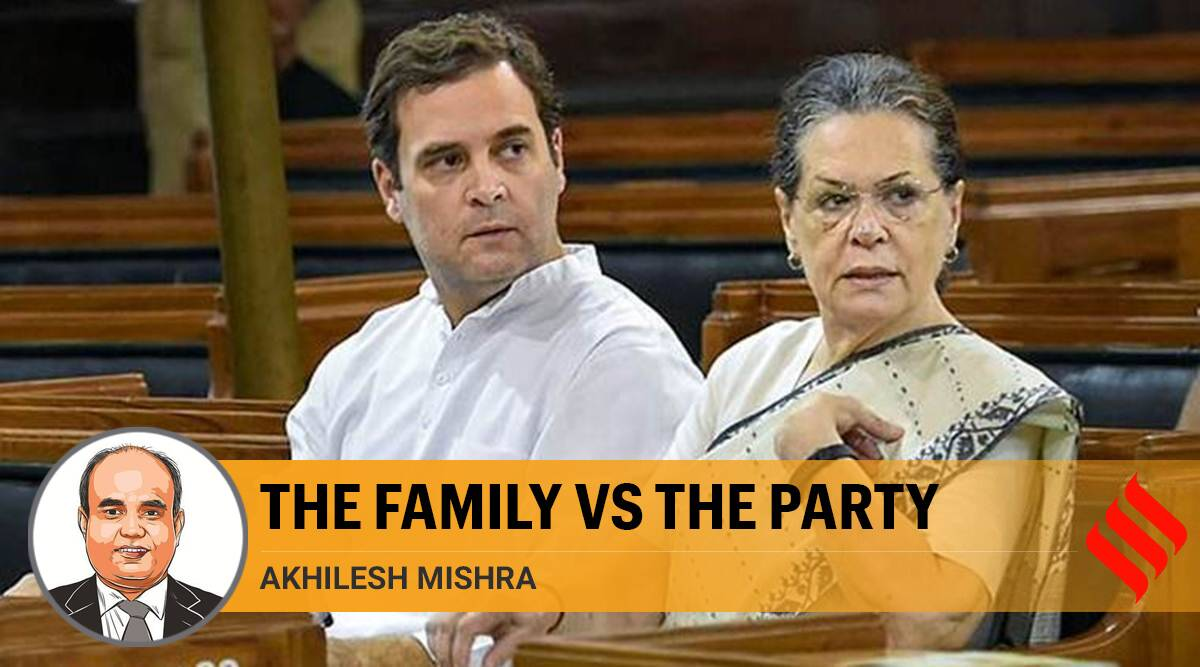 Congress, Congress family and politics, Indian Parliament, Congress party, Gandhi family, Sonia Gandhi, Rahul Gandhi, Indian express opinion